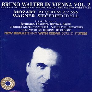 Image for 'Bruno Walter in Vienna Vol. 2 - The Last Recordings in Europe Before the Second World War'