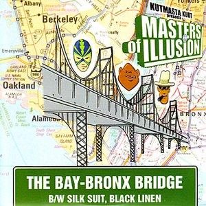 Image for 'The Bay-Bronx Bridge b/w Silk Suit, Black Linen'