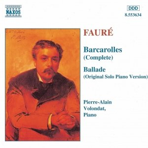 Image for 'FAURE: Barcarolles (Complete) / Ballade, Op. 19'