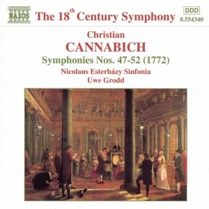 Image for 'CANNABICH: Symphonies Nos. 47 - 52'