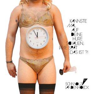 Bild för 'Kannste mal auf deine Hure schauen, wie spät das ist?!'