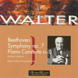 Image for 'Beethoven : Symphony No.7 in A Major Op.92 , Piano Concerto No.5 in E Flat Major Op.73'