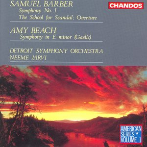 Image for 'Barber / Beach: Orchestral Works'