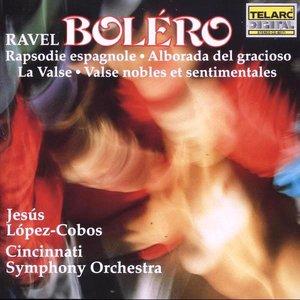 Bild för 'Bolero, Rapsodie espagnole & La Valse (Cincinnati Symphony Orchestra feat. conductor: Jesus Lopez-Cobos)'
