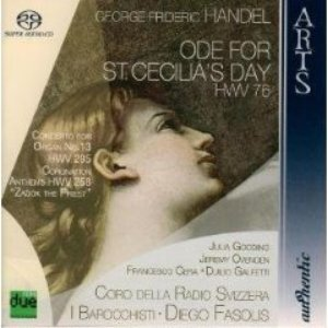 Image for 'George Frideric  Handel: Ode For St. Cecilia's Day HWV 76'