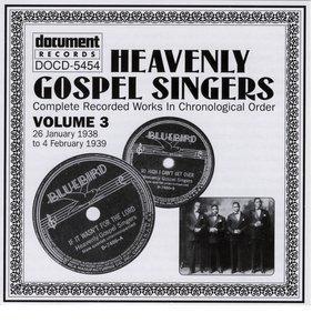 Image for 'Heavenly Gospel Singers Vol. 3 (1938-1939)'