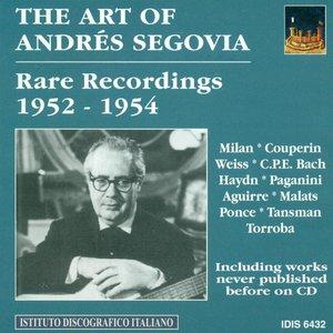 Immagine per 'The Art of Segovia, Vol. 1 (1952-1954)'