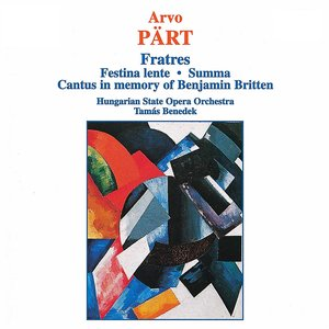 Imagem de 'Fratres for Violin, Strings and Percussion'