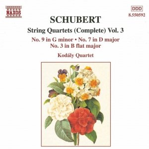 Image for 'SCHUBERT: String Quartets Nos. 3, 7 and 9'