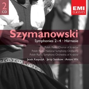 Image for 'Szymanowski:Symphonies Nos. 2-4; Harnasie, etc'