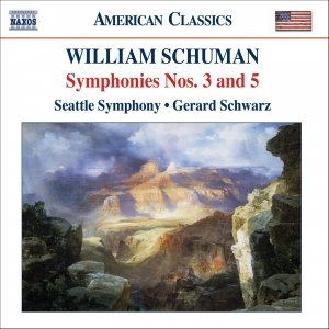 Image for 'SCHUMAN, W.: Symphonies Nos. 3 and 5 / Judith'
