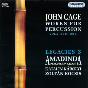 Image for 'Works for Percussion, Volume 2: 1941-1950 (Amadinda Percussion Group)'