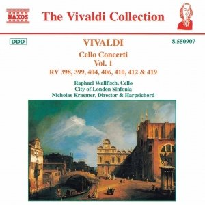 Image for 'VIVALDI: Cello Concertos, Vol.  1'