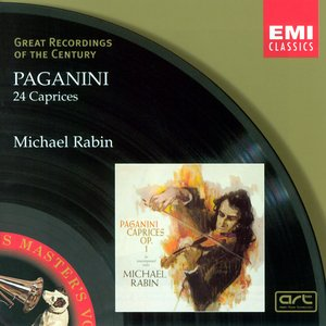 Image for 'Paganini: 24 Caprices for solo violin'