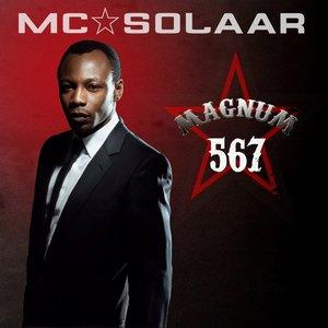 Image pour 'Magnum 567   (Pack contenant 3 albums de MC Solaar : Cinquième As, Mach 6 et Chapitre 7)'
