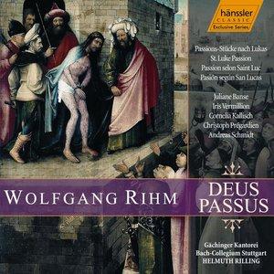 """Image for 'Rihm: Deus Passus, """"St. Luke Passion""""'"""