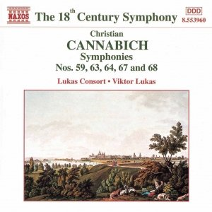 Image for 'CANNABICH: Symphonies Nos. 59, 63, 64, 67 and 68'