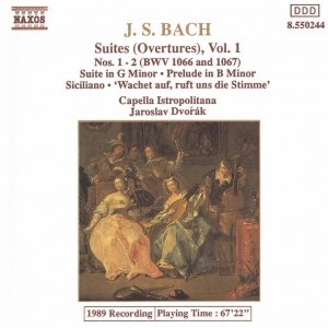 Image for 'BACH, J.S.: Orchestral Suites Nos. 1 and 2, BWV 1066-1067'