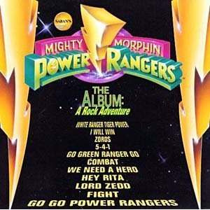 Image for 'Mighty Morphin Power Rangers The Album: A Rock Adventure'