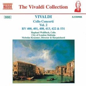 Image for 'VIVALDI: Cello Concertos, Vol.  2'