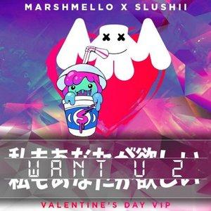 Image for 'Want U 2 (Marshmello & Slushii Remix)'