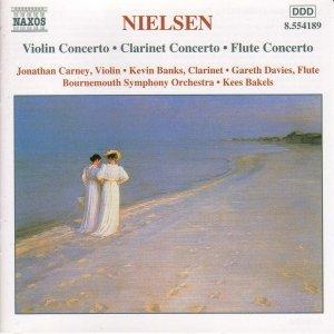 Image for 'NIELSEN, C.: Violin Concerto / Clarinet Concerto / Flute Concerto'