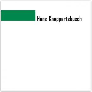Image for 'Hans Knappertsbusch Cond. Munchener Philarmoniker'