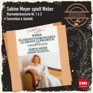 Image for 'Sabine Meyer spielt Weber'