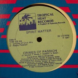 Image for 'Crimes Of Passion club mix'