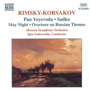 Imagem de 'RIMSKY-KORSAKOV: Pan Voyevoda / Sadko / May Night'