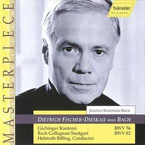 Imagem de 'Dietrich Fischer-Dieskau Sings Bach'