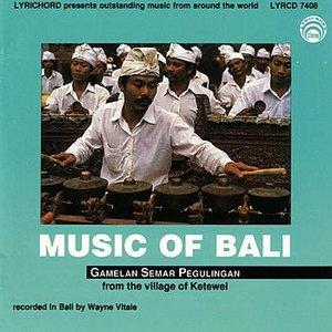 Immagine per 'Music of Bali'