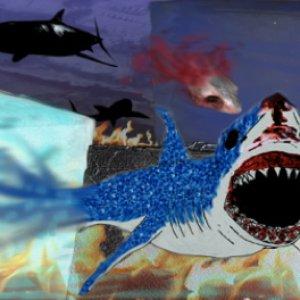 海底动物音乐会绘画