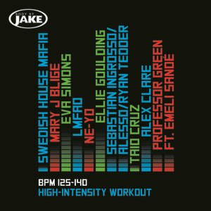 Image for 'Body By Jake: High-Intensity (BPM 125-140)'