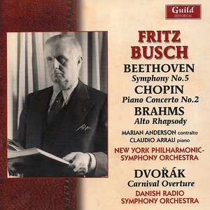 Image for 'Fritz Busch - Beethoven, Chopin, Brahms - 1950'