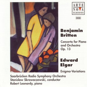 Image for 'Britten: Concerto For Piano And Orch. op. 13/Elgar: Enigma Variations op. 36'