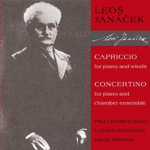 Bild för 'Capriccio for piano and winds, Concertino for piano and chamber ensemble (Paul Crossley - piano, London Sinfonietta / David Atherton)'