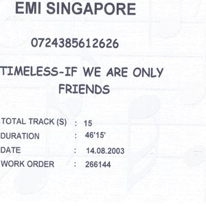 Image for 'If We Are Only Friends'