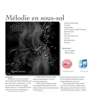Image for 'Mélodie en sous-sol'