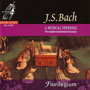 Image for 'J.S. Bach: A Musical Offering - The Complete Instrumental Trio Sonatas'