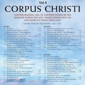 Immagine per 'Corpus Christi, Vol. 4'