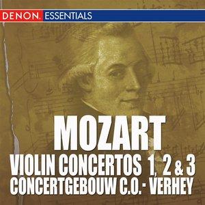Image for 'Mozart: Violin Concertos Nos. 1, 2 & 3'