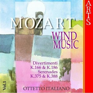 Image for 'W.A. Mozart: Music for Wind Musics - Vol. 1'