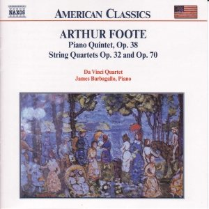 Image for 'FOOTE: Piano Quintet Op. 38 / String Quartets Opp. 32 and 70'