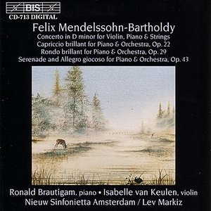 Image for 'MENDELSSOHN: Concerto for Violin, Piano and String Orchestra'
