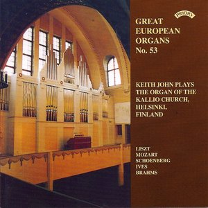 Image for 'Great European Organs No. 53: The Kallio Church, Helsinki'