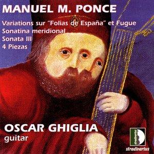 Image for 'Ponce: VariationsSur Folias De España Et Fugue, Sonatina Meridional, Sonata III, 4 Piezas. Guitar Collection Vol.3'
