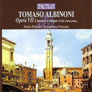 Image pour 'Albinoni: Opera VII Concerti A Cinque (1716), Parte Prima'