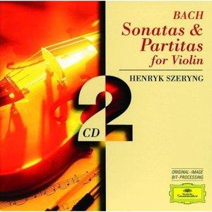 Imagem de 'Bach. Sonatas and Paritas for Solo Violin (disc 1)'