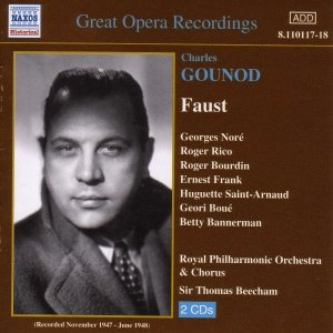 Image for 'GOUNOD: Faust (Beecham) (1947-1948)'